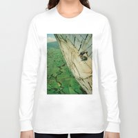 vertigo Long Sleeve T-shirts featuring vertigo by Jesse Treece
