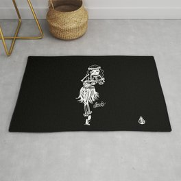 sailor deadly Rug
