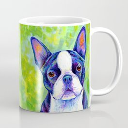Effervescent - Colorful Boston Terrier Dog Coffee Mug