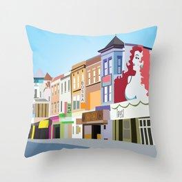 Adams Morgan D.C. Throw Pillow