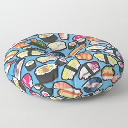 Sushi Blue Floor Pillow