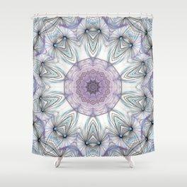 Dandelion Mandala Shower Curtain