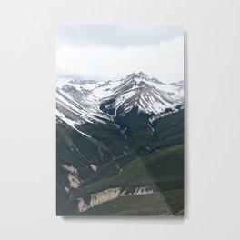 Mountain Valley Metal Print
