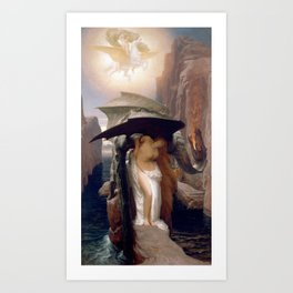 Perseus and Andromeda, Lord Leighton Frederic Art Print