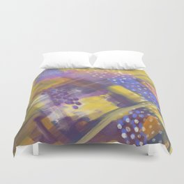Abstract Arial design Duvet Cover