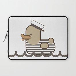 Vintage Sailor Duck. Laptop Sleeve
