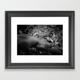 MY LITTLE PIG (Us And Them) Framed Art Print