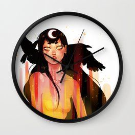 SAILOR MARS // MAGIC GIRL TRANSFORMATION Wall Clock