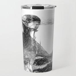 Brahman Bulls sketch Travel Mug
