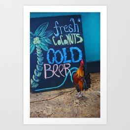 Cockadoodledoo Art Print