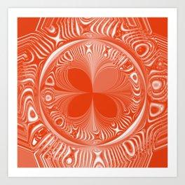 Terracotta Tile Art Print