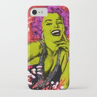 "marylin monroe iPhone & iPod Cases featuring We died for you ""Marylin Monroe"" by Olivier Dressen aka ""HERO"""