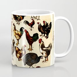The Poultry of the World Coffee Mug