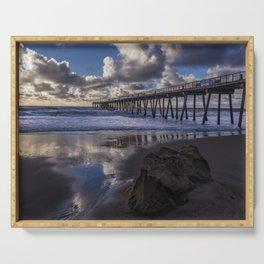 Hermosa Beach Pier Serving Tray