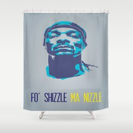 Snoop Dogg Poster Art Shower Curtain