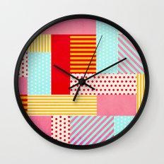 Geometric Pop Wall Clock
