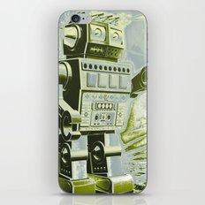 Robot Wars Pop Art iPhone & iPod Skin