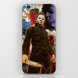 "Michael Myers Halloween ""The Curse of Thorne"" iPhone Skin"