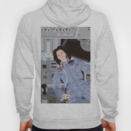 Sally Ride, first American woman in space Hoody