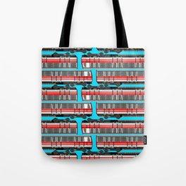 Subway Cart Tote Bag