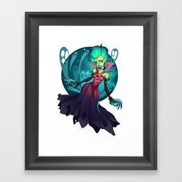 DEATH PROPHET Framed Art Print