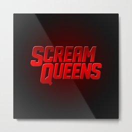SQueens Metal Print