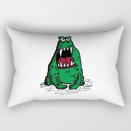 Mad Frog goin crazy Rectangular Pillow
