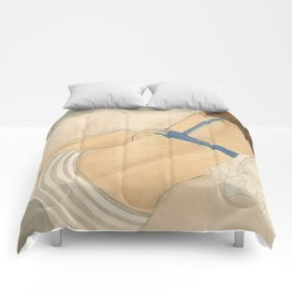 Collapsed Comforters