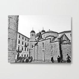 Kotor Square Metal Print