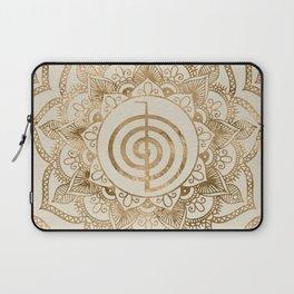Cho Ku Rei - pastel gold lotus mandala Laptop Sleeve