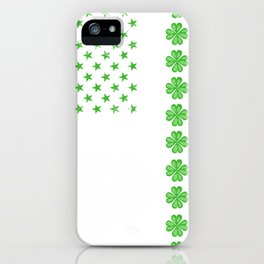 Irish American Flag iPhone Case