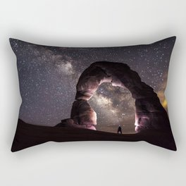 Delicate Nights Rectangular Pillow