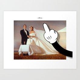 còllera wedding Art Print