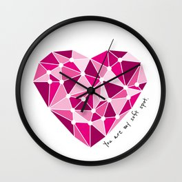 You are my soft spot... Wall Clock