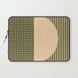 Geometric Spring Abstract - Pantone Warm color Laptop Sleeve