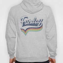 "RETRO VINTAGE ""Funday"" Hoody"