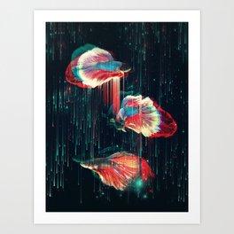Deeply Art Print