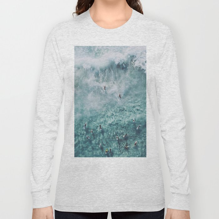 lets surf xx Long Sleeve T-shirt