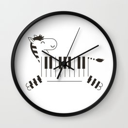 Life is like a piano Wall Clock