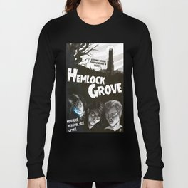 Hemlock Grove Vintage Poster Long Sleeve T-shirt
