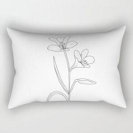 Amancay - Patagonian wildflower Rectangular Pillow