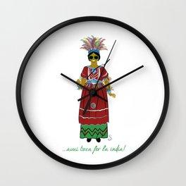 Avui toca fer la india! Wall Clock