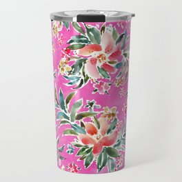 WELL BRAGGED Floral Travel Mug