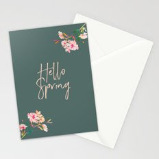 Hello Spring II Stationery Cards