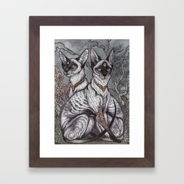 Gift of Sight art print Framed Art Print