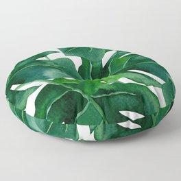 Deep In The Jungle Floor Pillow