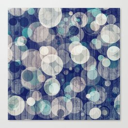Bubblewood series n2 Canvas Print