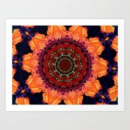 Crazy Flower Art #86 Art Print