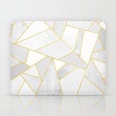 White Stone Laptop & iPad Skin