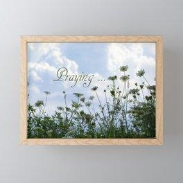 Flower Ridge Framed Mini Art Print